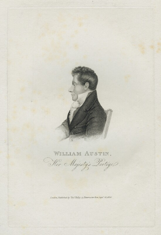 William Austin, published by Thomas Kelly, published 1820 - NPG D38616 - © National Portrait Gallery, London