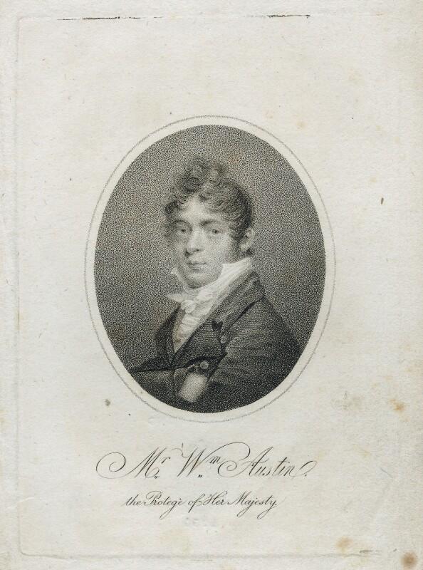 William Austin, by Unknown artist, circa 1820 - NPG D38617 - © National Portrait Gallery, London