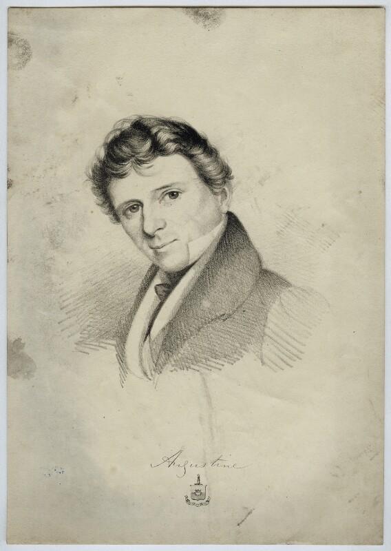 William Austin, by Unknown artist, circa 1820 - NPG D38619 - © National Portrait Gallery, London