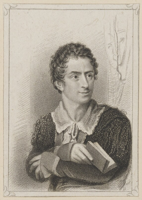 Edmund Kean as Hamlet, by R. Page, published by  T & I Elvey, after  Thomas Charles Wageman, published 1822 - NPG D38624 - © National Portrait Gallery, London