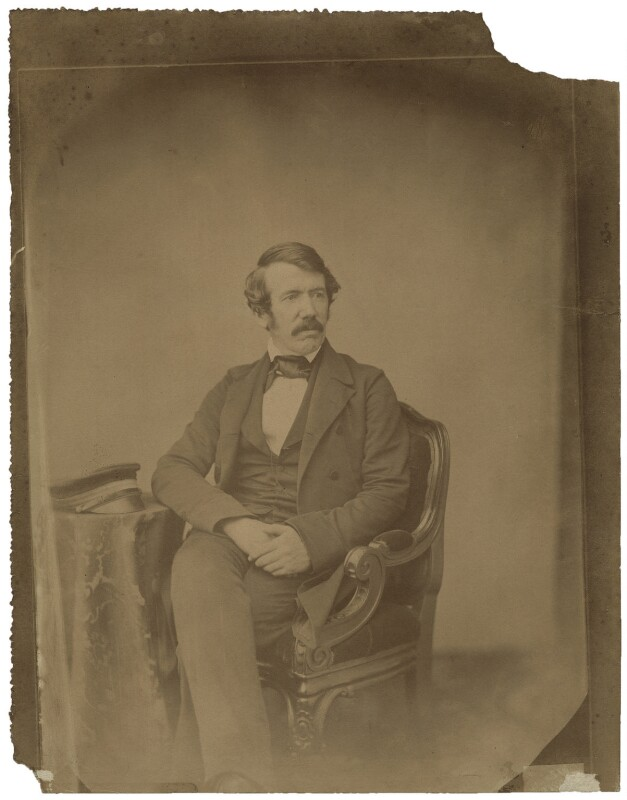David Livingstone, by John Jabez Edwin Mayall, circa 1857 - NPG x16183 - © National Portrait Gallery, London