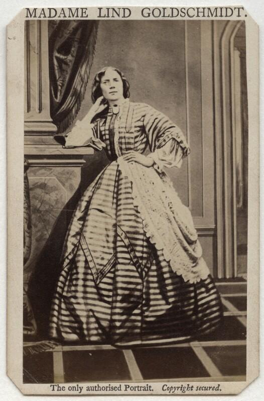 Jenny Lind, by Henry Murray, 1862 - NPG x135354 - © National Portrait Gallery, London