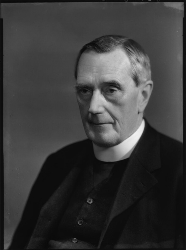 William Ralph Inge, by Bassano Ltd, 6 June 1939 - NPG x156382 - © National Portrait Gallery, London