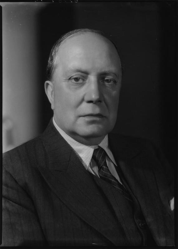Sir Percy Walter Llewellyn Ashley, by Bassano Ltd, 19 June 1939 - NPG x156417 - © National Portrait Gallery, London