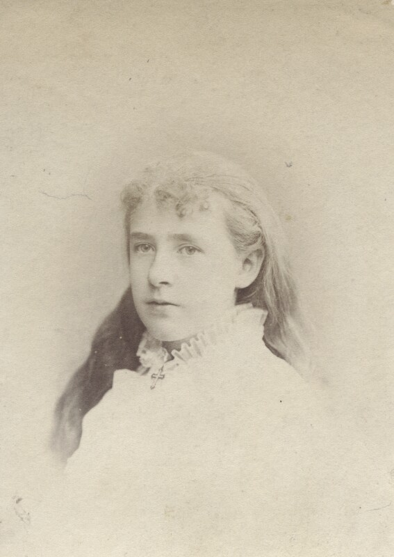 Mary Berenson (née Smith), by Unknown photographer, 1876 - NPG Ax160521 - © National Portrait Gallery, London