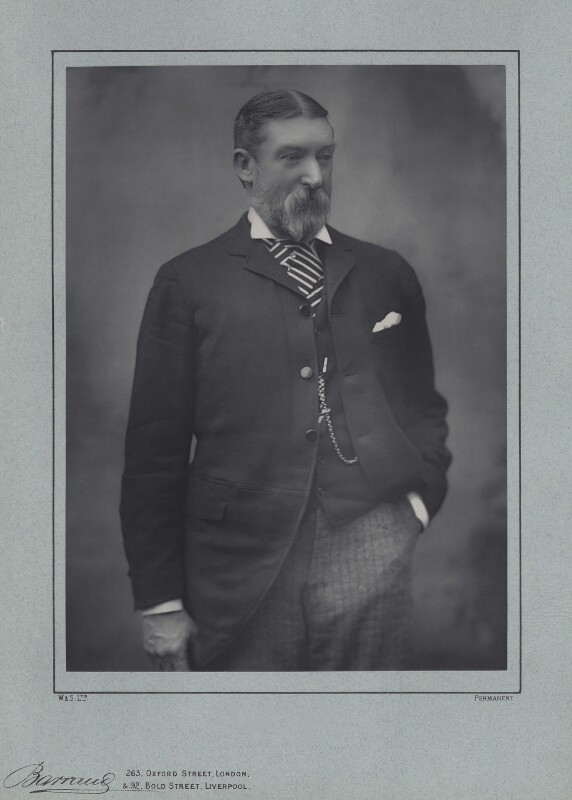 Henry Hawley Smart, by Herbert Rose Barraud, published by  Eglington & Co, published 1889 - NPG x22619 - © National Portrait Gallery, London