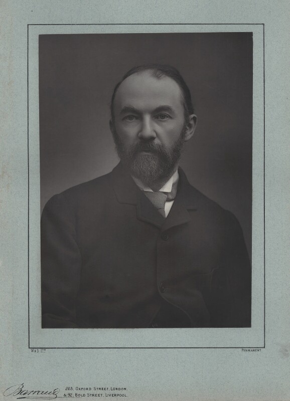 Thomas Hardy, by Herbert Rose Barraud, published by  Eglington & Co, published 1889 - NPG x17355 - © National Portrait Gallery, London