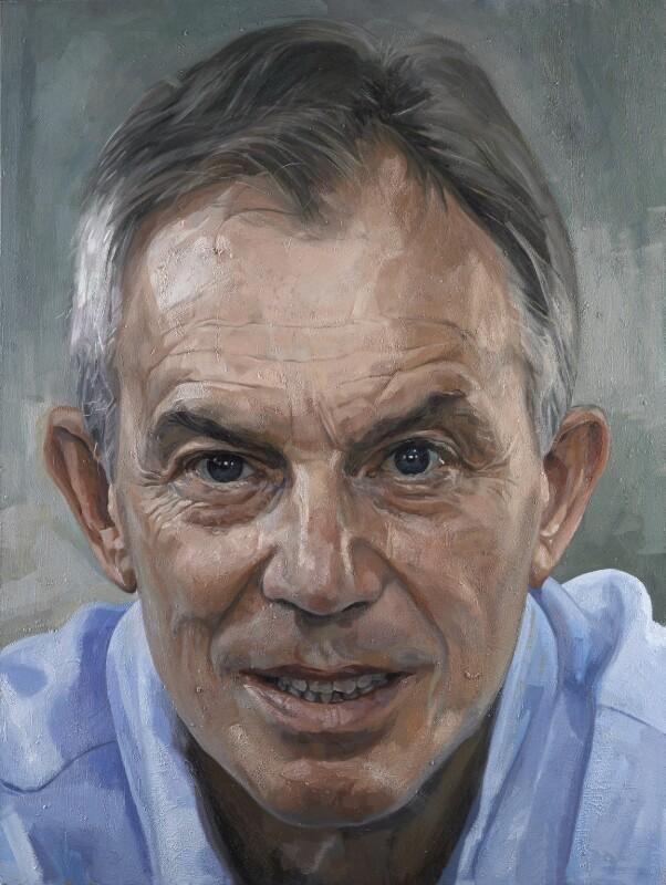 Tony Blair, by Alastair Adams, 2013 - NPG 6974 - © National Portrait Gallery, London