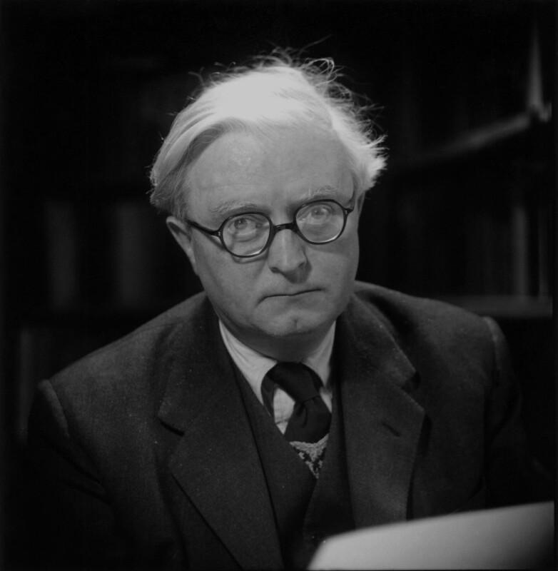 Sir Denis William Brogan, by Antony Barrington Brown, 1956 - NPG x135404 - © Gonville & Caius College, Cambridge