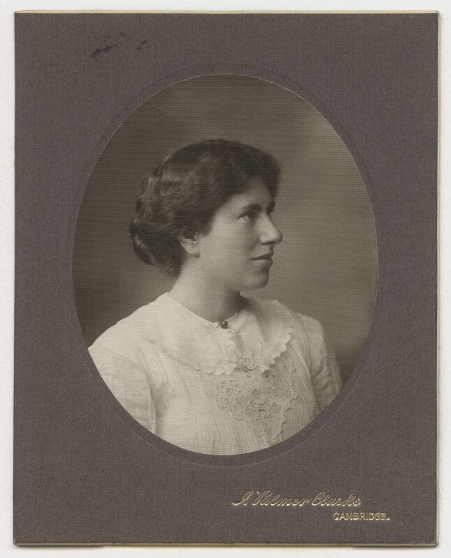 Karin Stephen, by John Palmer Clarke, circa 1911 - NPG Ax160818 - © National Portrait Gallery, London