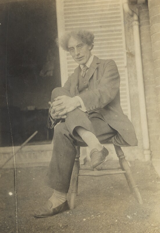 Roger Fry, by Unknown photographer, 1915 - NPG Ax160972 - © National Portrait Gallery, London