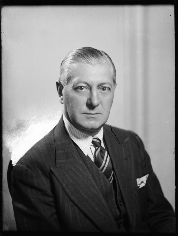 Walter Victor Hutchinson, by Bassano Ltd, 1943 - NPG x178652 - © National Portrait Gallery, London
