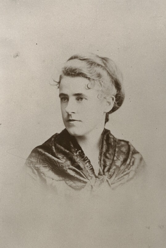 Mary Berenson (née Smith), by Unknown photographer, (1883) - NPG Ax160527 - © National Portrait Gallery, London