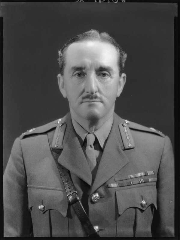Alan Francis Brooke, 1st Viscount Alanbrooke, by Bassano Ltd, 31 July 1939 - NPG x156517 - © National Portrait Gallery, London