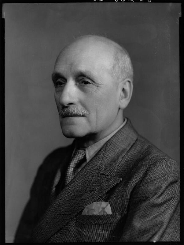 Charles George Ammon, 1st Baron Ammon, by Bassano Ltd, 13 September 1939 - NPG x156534 - © National Portrait Gallery, London