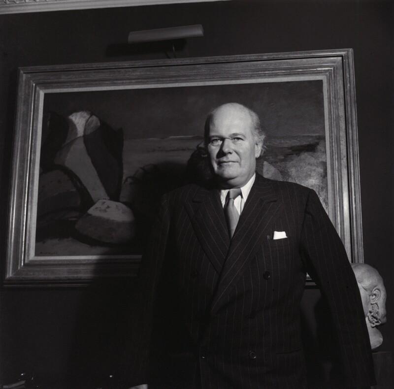 Sir Robert Philip Wyndham Adeane, by Ida Kar, 1959 - NPG x135429 - © National Portrait Gallery, London