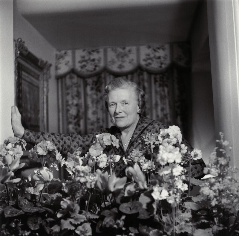 Kathleen Hamet (née Dunn), Lady Adeane, by Ida Kar, 1959 - NPG x135431 - © National Portrait Gallery, London