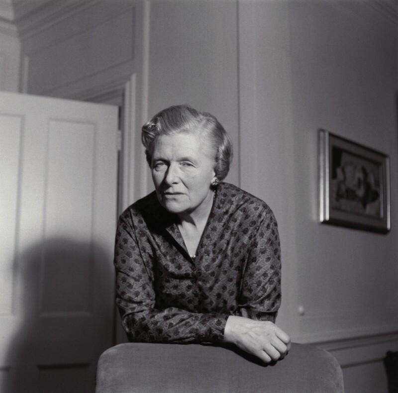 Kathleen Hamet (née Dunn), Lady Adeane, by Ida Kar, 1959 - NPG x135432 - © National Portrait Gallery, London