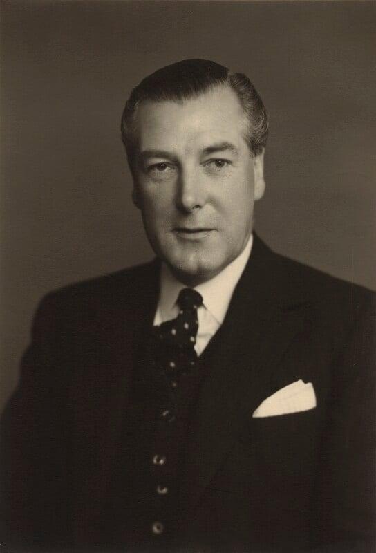 David McAdam Eccles, 1st Viscount Eccles, by Walter Stoneman, 1953 - NPG x167158 - © National Portrait Gallery, London