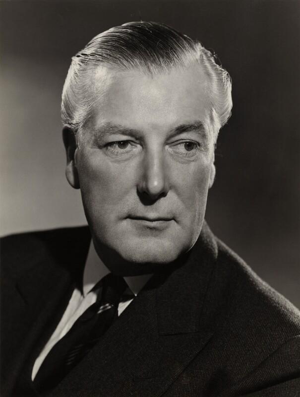 David McAdam Eccles, 1st Viscount Eccles, by Walter Bird, 10 April 1962 - NPG x167159 - © National Portrait Gallery, London