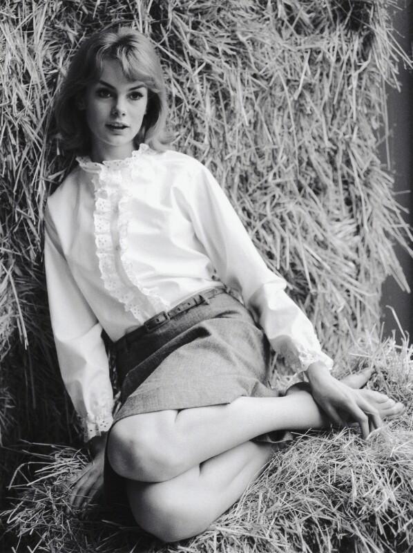 Jean Shrimpton, by Sandra Lousada, 1962 - NPG x135425 - © Sandra Lousada