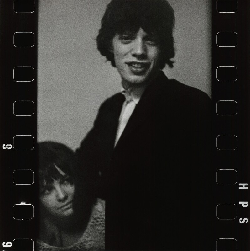 Chrissie Shrimpton; Mick Jagger, by Eric Swayne, 1963 - NPG x135473 - © Estate of Eric Swayne