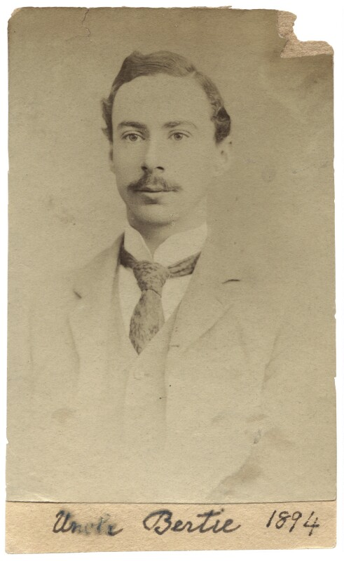 Bertrand Arthur William Russell, 3rd Earl Russell, by Unknown photographer, 1894 - NPG Ax160680 - © National Portrait Gallery, London