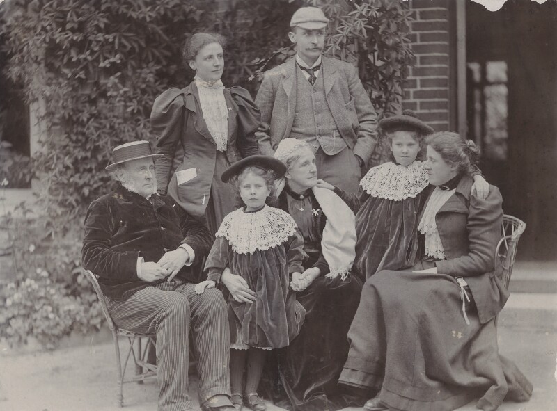 Pearsall Smith Family, by Unknown photographer, 1894 - NPG Ax160700 - © National Portrait Gallery, London