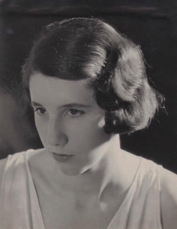Barbara Strachey (Hultin, later Halpern), by Unknown photographer, 1931 - NPG Ax161048 - © National Portrait Gallery, London