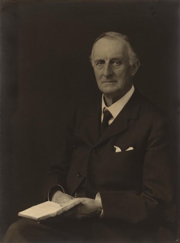 Edward Grey, 1st Viscount Grey of Fallodon, by Walter Stoneman, 1931 - NPG x167163 - © National Portrait Gallery, London