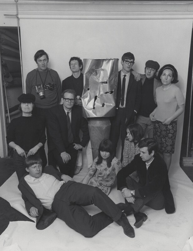 The Staff of Private Eye, 1965, by Lewis Morley, 1965 - NPG x135520 - © Lewis Morley Archive / National Portrait Gallery, London