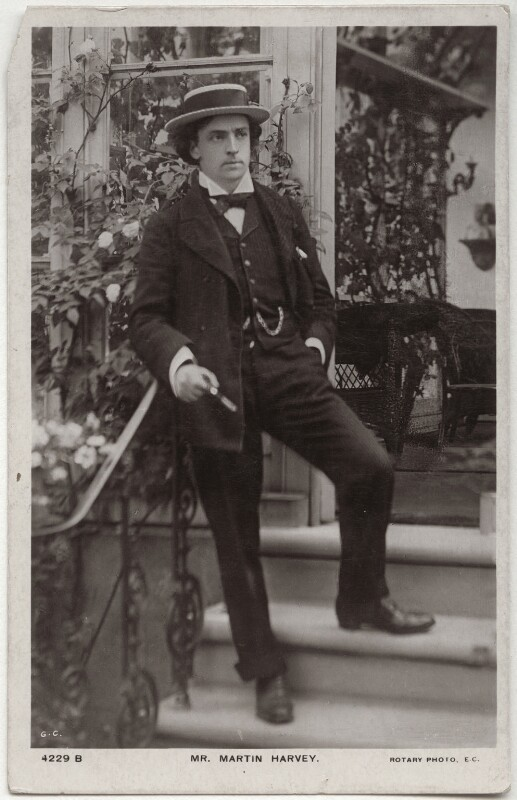 Sir John Martin-Harvey, by G.C., published by  Rotary Photographic Co Ltd, 1900s - NPG x160506 - © National Portrait Gallery, London