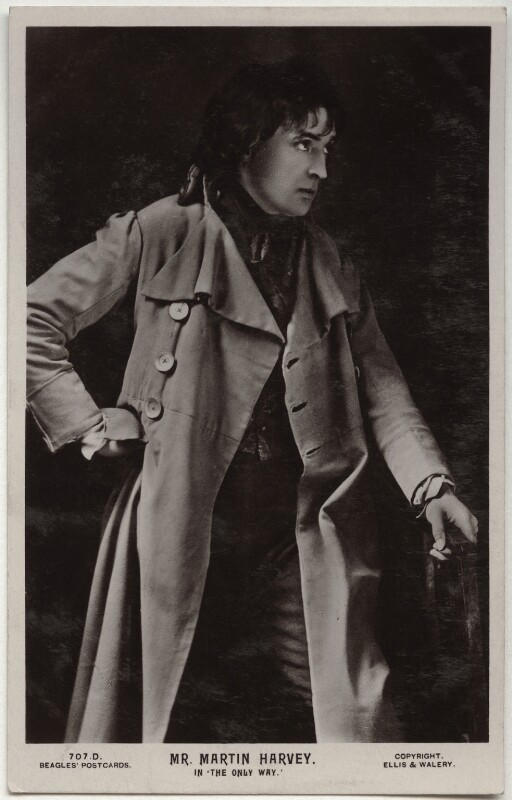 Sir John Martin-Harvey as Sydney Carton in 'The Only Way', by Alfred Ellis & Walery, published by  J. Beagles & Co, 1899 - NPG x160510 - © National Portrait Gallery, London
