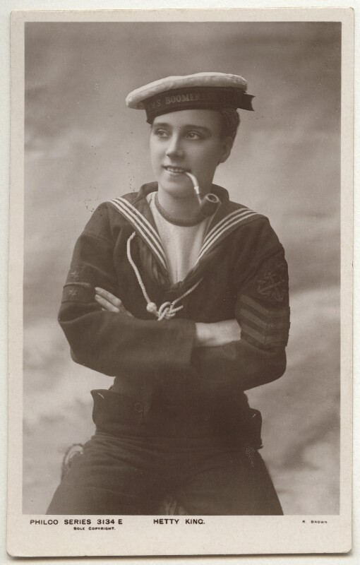 Hetty King (Winifred Emms), published by The Philco Publishing Co, 1910s - NPG x160520 - © National Portrait Gallery, London