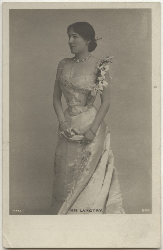 Lillie Langtry, published by Blum & Degan, 1890s - NPG x160522 - © National Portrait Gallery, London