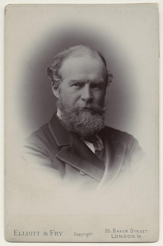 John Lubbock, 1st Baron Avebury, by Francis Henry Hart, for  Elliott & Fry, circa 1890 - NPG x135531 - © National Portrait Gallery, London