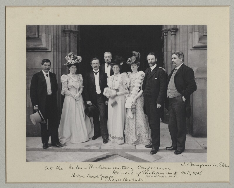 'At the Inter-Parliamentary Conference', by Sir (John) Benjamin Stone, 25 July 1906 - NPG x135539 - © National Portrait Gallery, London