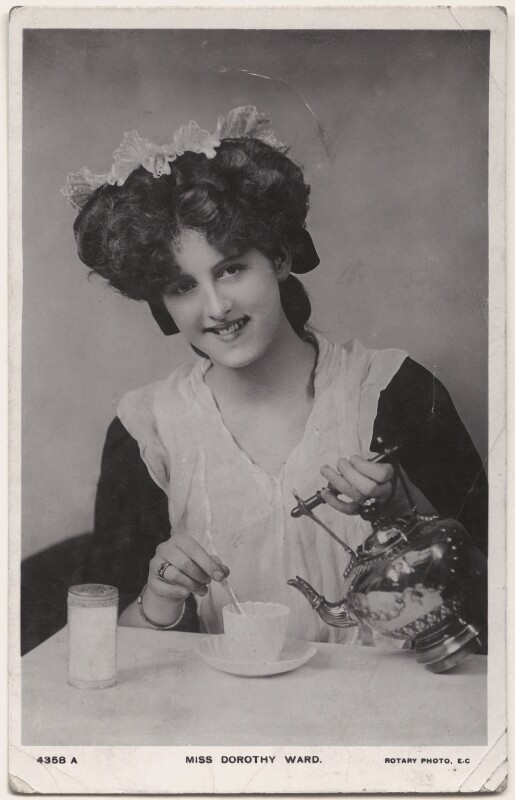 Dorothy Ward, published by Rotary Photographic Co Ltd, mid 1900s - NPG x160608 - © National Portrait Gallery, London