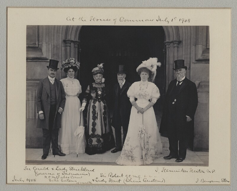 'At the House of Commons', by Benjamin Stone, 1 July 1908 - NPG x135556 - © National Portrait Gallery, London