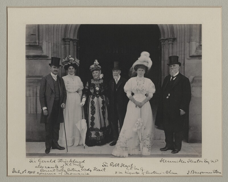 'At the House of Commons', by Benjamin Stone, 1 July 1908 - NPG x135557 - © National Portrait Gallery, London