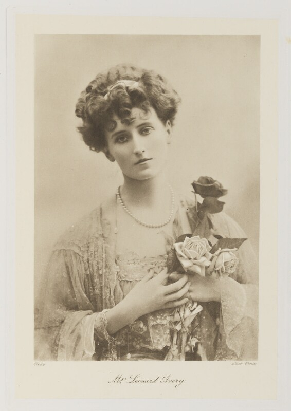 Helen Mary Avery (née Reeves), by Lallie Charles (née Charlotte Elizabeth Martin), 1900s - NPG Ax161332 - © National Portrait Gallery, London