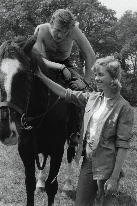 Albert Finney; Susannah York, by Sandra Lousada, 1962 - NPG x135576 - © Sandra Lousada