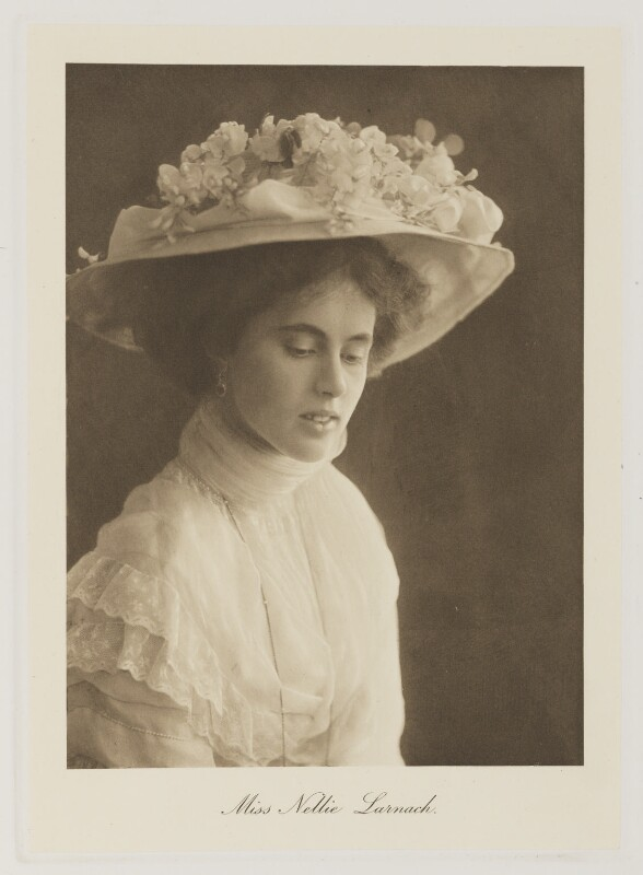 Isabel Nellie Larnach-Nevill (née Larnach), Marchioness of Abergavenny, by Bassano Ltd, published 1909 - NPG Ax161362 - © National Portrait Gallery, London