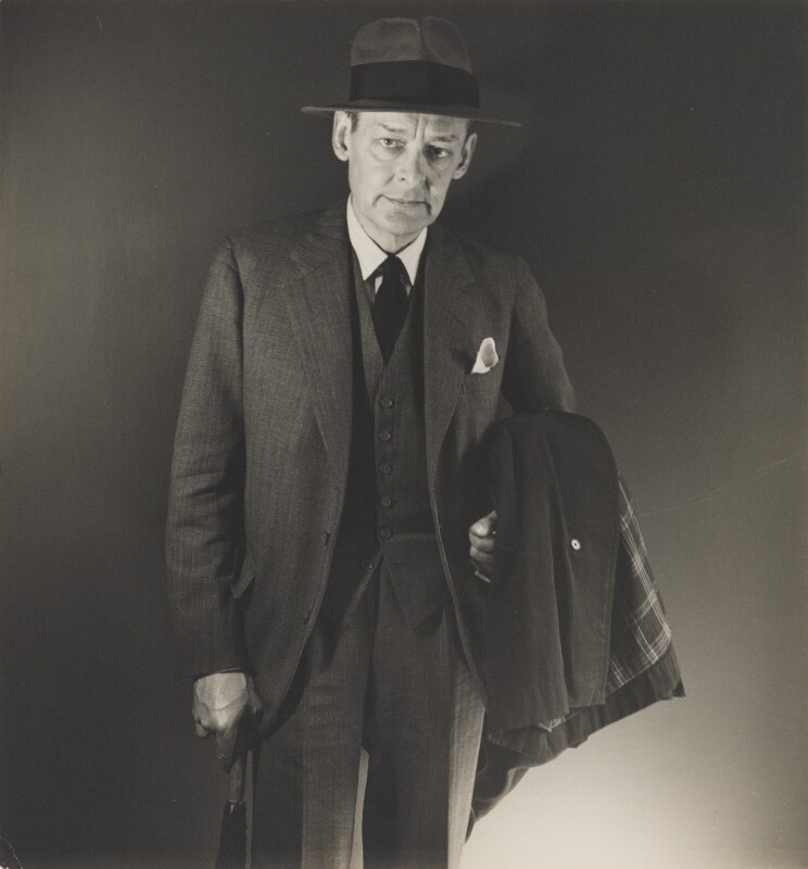 T.S. Eliot, by George Platt Lynes, 1947 - NPG P1687 - © estate of George Platt Lynes