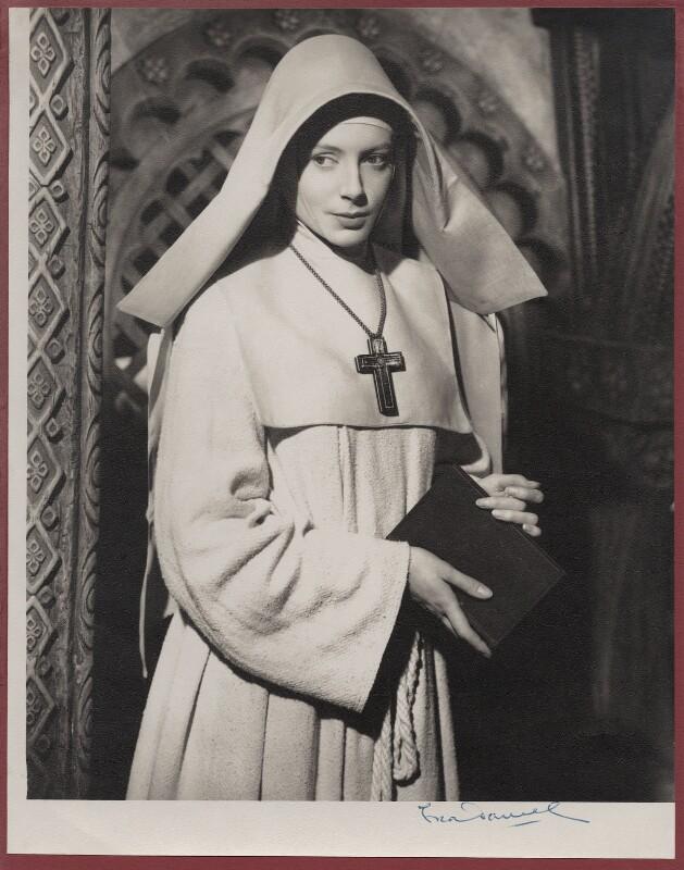 Deborah Kerr as Sister Clodagh in 'Black Narcissus', by Fred Daniels, 1946 - NPG x135600 - © Estate of Fred Daniels / National Portrait Gallery, London