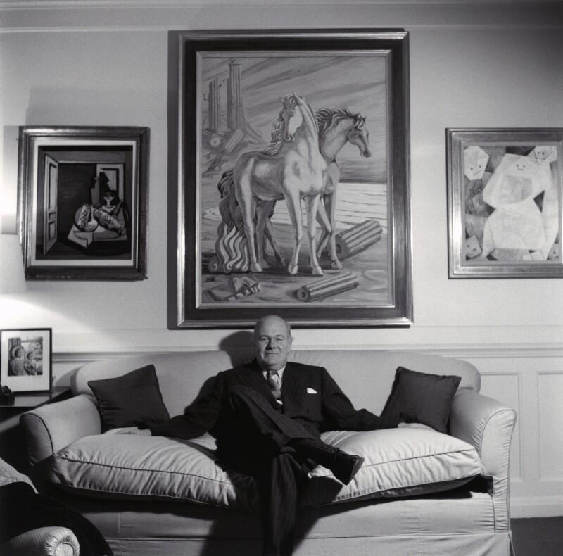 Sir Robert Philip Wyndham Adeane, by Ida Kar, 1959 - NPG x135601 - © National Portrait Gallery, London