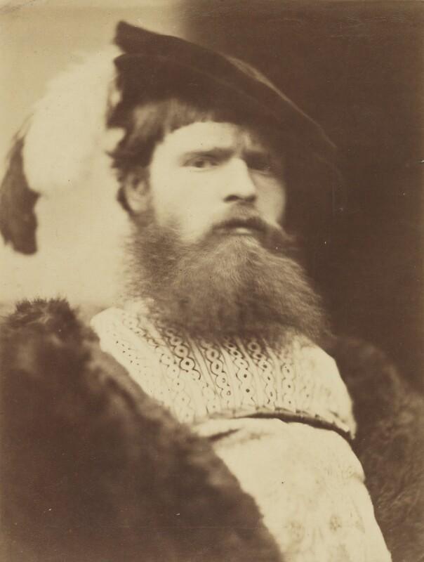 William Frederick Yeames, by David Wilkie Wynfield, 1860s - NPG P98 - © National Portrait Gallery, London
