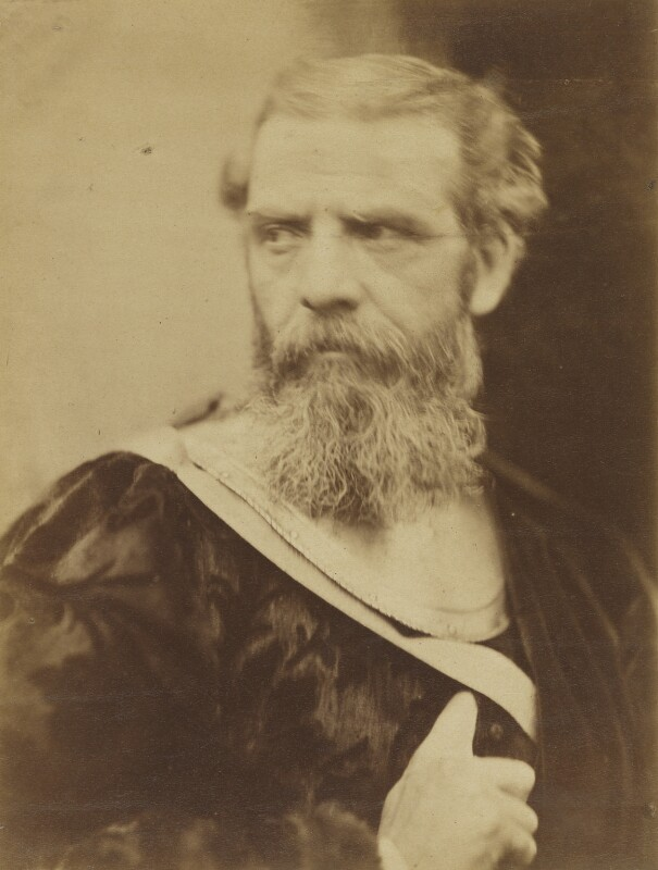 Richard Ansdell, by David Wilkie Wynfield, 1860s - NPG P89 - © National Portrait Gallery, London