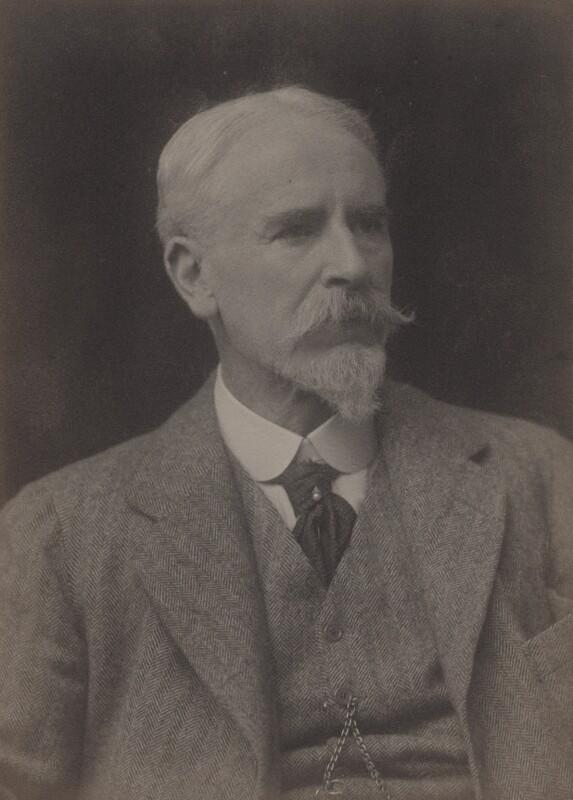 Frank Dicksee, by Walter Stoneman, 1917 - NPG x167173 - © National Portrait Gallery, London