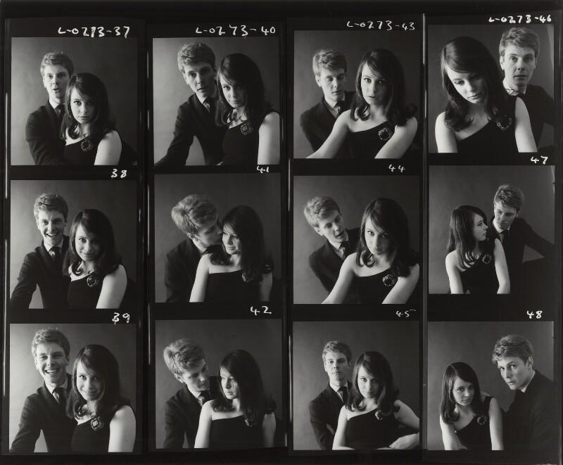 James Fox; Sarah Miles, by Sandra Lousada, 1961 - NPG x135613 - © Sandra Lousada